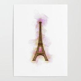 Eiffel Tower - Paris Poster