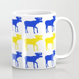 Graphic Swedish Moose Flag I Coffee Mug