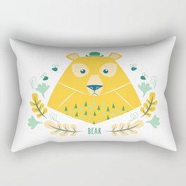 Scandi Bear Rectangular Pillow