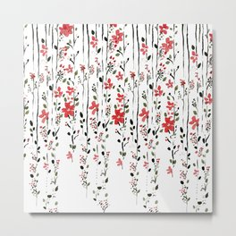 flowerly Metal Print