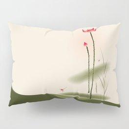 Oriental Lotus 002 Pillow Sham