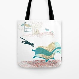 Cat Dreams Tote Bag