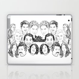 Parks and Recreation 'Rec a Sketch' Laptop & iPad Skin