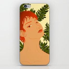 Leaf Me Be iPhone Skin