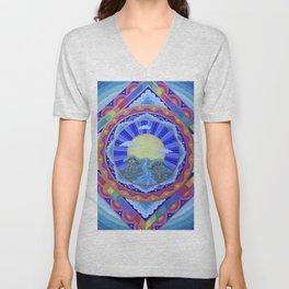 Beautiful World Mandala Unisex V-Neck