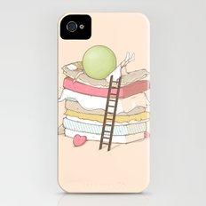 Can't sleep iPhone (4, 4s) Slim Case