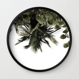 Tropical Lush Wall Clock