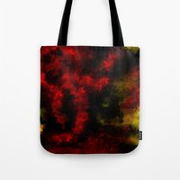 planes Tote Bags featuring Falling Planes by NicholasB
