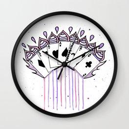 Magical Cards Wall Clock