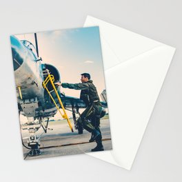 Etendard driver Stationery Cards