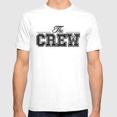 THE CREW  SMALL Mens Fitted Tee White