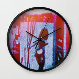 Crossing Wires Wall Clock