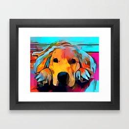 Golden Retriever 4 Framed Art Print