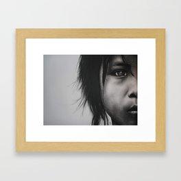 """"""" Why?"""" Framed Art Print"""