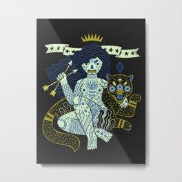 Perilous Queen Metal Print