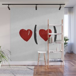 I Carry Your Heart with Me (I Carry It in My Heart) Wall Mural