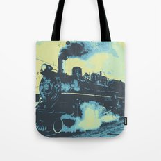 Morning train 1946 Tote Bag