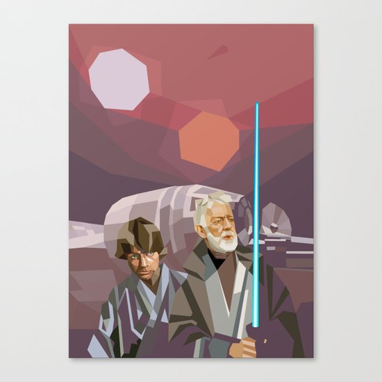 Farthest From Canvas Print