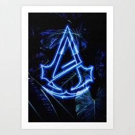 Ezio Video Game Art Print