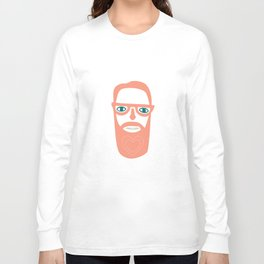 Carry your love in your beard Long Sleeve T-shirt