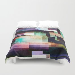Lighthouse Abstract Duvet Cover