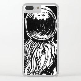 SpaceDude Clear iPhone Case
