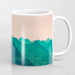Magical Surreal Mountainous Landscape Coffee Mug