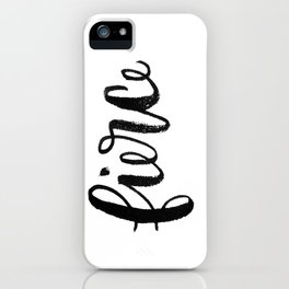 fierce. iPhone Case