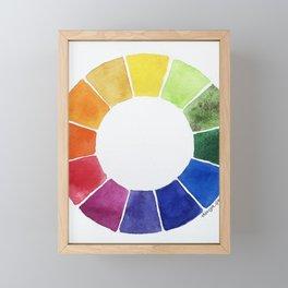 Color Wheel Framed Mini Art Print