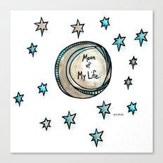 Moon of My Life - Khal and Khaleesi Canvas Print