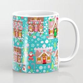 Christmas Gingerbread House Candy Village Coffee Mug