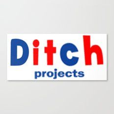 Ditch Projects Logo Canvas Print