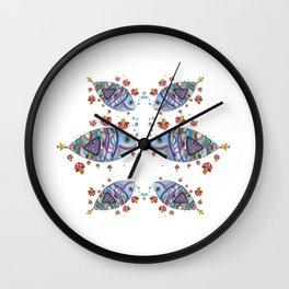 Mush-Fish Wall Clock