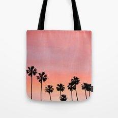 Blushing Palms Tote Bag