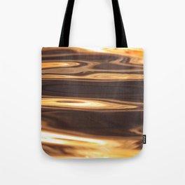 Water Sunset Pattern Tote Bag