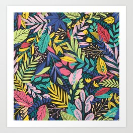 Floral Frenzy 2 Art Print