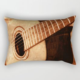 Guitar Art Rectangular Pillow