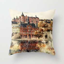 Stockholm Throw Pillow
