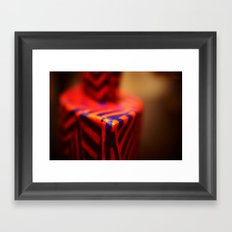 Yikes. Framed Art Print