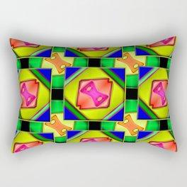 Colorandblack series 652 Rectangular Pillow