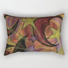 Night Sky in Autumn Rectangular Pillow
