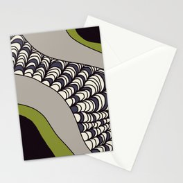 Green Rolled Stationery Cards