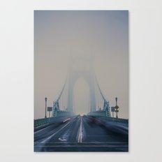 St. Johns Bridge Fog Canvas Print