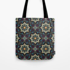 Abstract Cathedral Kaleidoscope Tote Bag