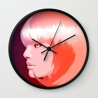 candy Wall Clocks featuring candy by Denise Medina