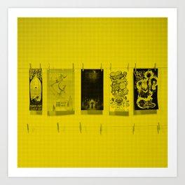 Paper Jam Posters Art Print