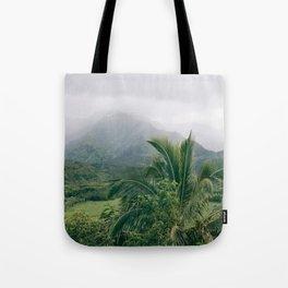 Hanalei Valley, Kauai Hawaii, Tropical Nature, Landscape Photography Tote Bag