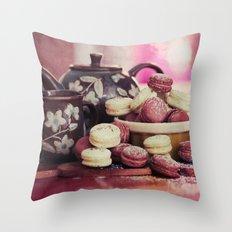 Teatime Treats Throw Pillow