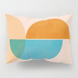 Abstraction_SUN_Rising_Minimalism_001 Pillow Sham