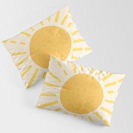 Sun Pillow Sham